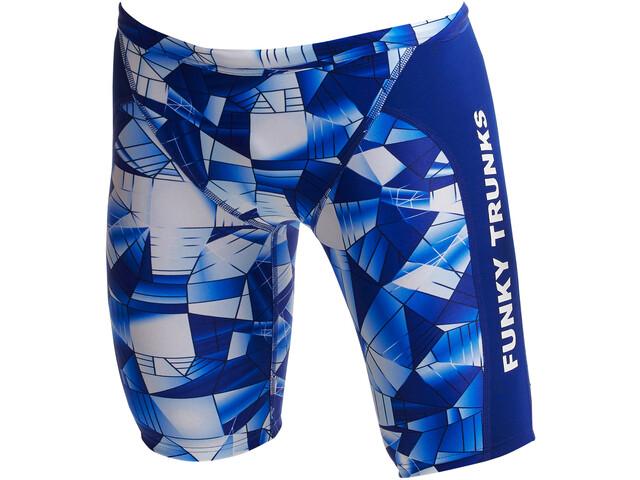 Funky Trunks Training Jammers Boys, azul
